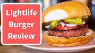 New Lightlife Burger Review: Is it as Good as Beyond?