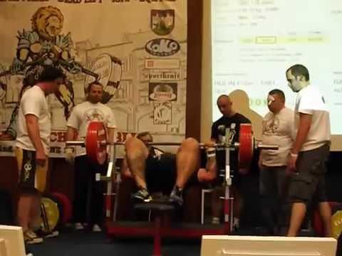 Bench Press Bartosz Chałaj podczas ME w Trutnov 240 kg | StudioOdżywek.pl |