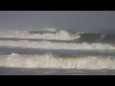 Surfing at Skeleton Bay and in Angola, West Africa