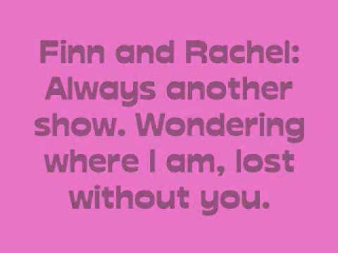 Faithfully - Glee Cast - Lyrics