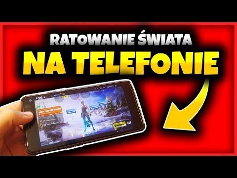 Jak Zagrać W RATOWANIE ŚWIATA NA TELEFONIE | Fortnite Ratowanie Świata