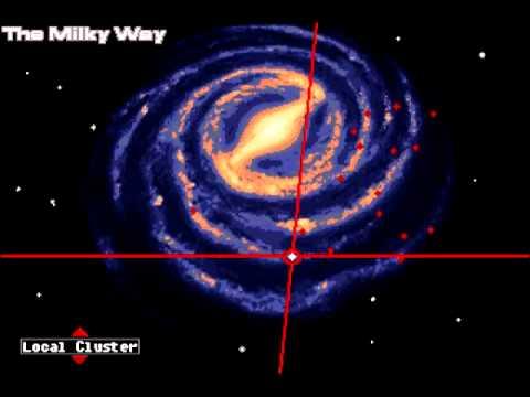 8 Bit Mass Effect Uncharted Worlds Galaxy Map Song