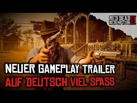 Neuer offizieller Gameplay Trailer Teil 2 auf Deutsch erschienen - Red Dead Redemption 2 NEWS