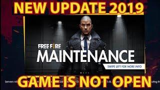 Free Fire Live New Update (GAME IS NOT OPEN 26 JUNE 2019) #GARENAFREEFIRENEWUPDATELIVE