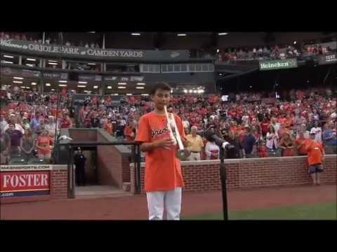 Whitney Houston - Baltimore Orioles National Anthem 'King' on MASN & CBS Radio 105.7