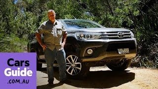 2016 Toyota HiLux SR5 dual cab 4x4 diesel auto review | Top 5 reasons to buy video