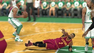 NBA 2K17 My Career - LeBron Scores 7 Points! CFG1! PS4 Pro 4K