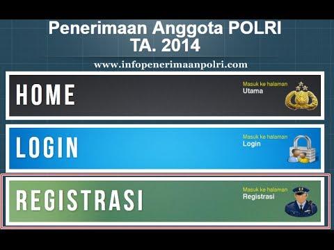 Penerimaan & Pendaftaran POLRI 2014 - Registrasi Online Tamtama POLRI