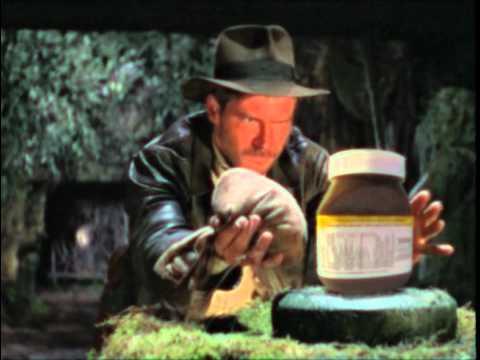Un extraño spot publicitario de Nutella con Indiana Jones