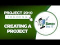 Microsoft Project 2010 Video Training Tutorial - Creating a Project