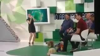 Renata fan dançando funk vem vem perereca ao vivo jogo aberto!