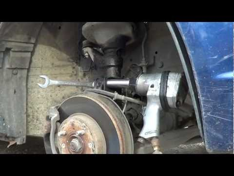 How To Lower and Install Struts On A 2001-2005 Honda Civic