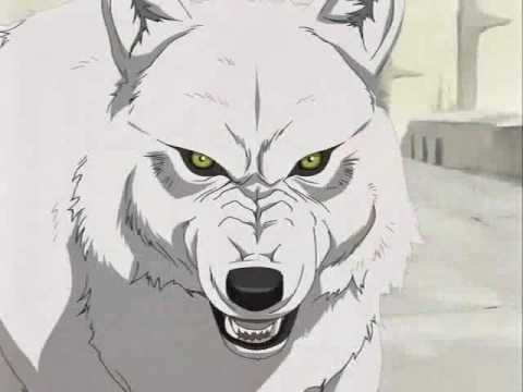 anime wolf head