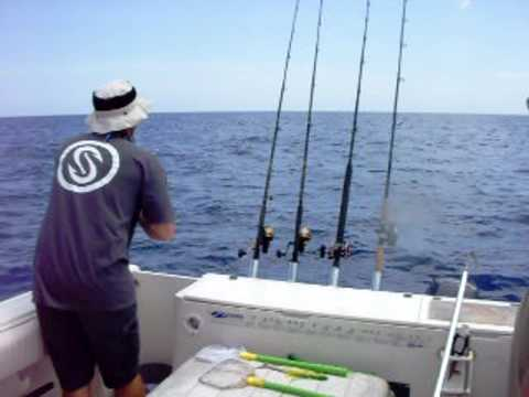 Fishing Offshore in the Gulf 50 miles off Sarasota