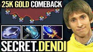 Secret Team New Member: DENDI Epic Tinker Comeback Imba Micro Skill Most Pro Dota 2 Gameplay