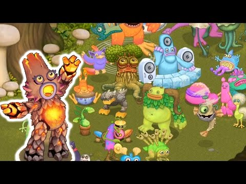 My Singing Monsters - All Tribal Island Monsters Review [FULL]