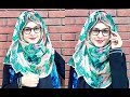 Hijab Style with GLASSES  SPECTACLES For Beginners Beauty || MUNA