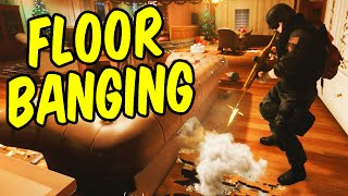 FloorBanging the Enemy - Rainbow Six Siege Funny Moments & Epic Stuff