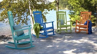 POLYWOOD® Presidential Vibrant Rocking Chairs - R100