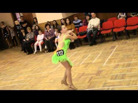 Хрустальная туфелька 2014. Королева Дарья. Джайв.