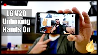 LG V20 Unboxing and Hands On - iGyaan