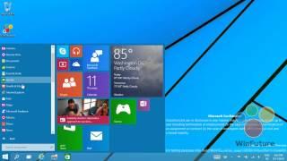 වින්ඩෝස් 7 සහ වින්ඩෝස් 8 එකතුවක් වන වින්ඩෝස් 9 දැන් ඔබට ලබාගත හැක Windows 9: Das neue Startmenü in A