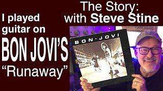 Bon Jovi I Runaway I Guitar Solo Lesson I Steve Stine I Tim Pierce