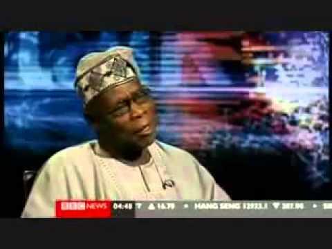 President Olusegun Obasanjo on BBC HardTalk