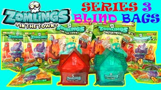 ULTIMATE SURPRISE  ZOMLINGS TOYS Series 3 Huge Surprise Blind Bags Toy Review Unboxing