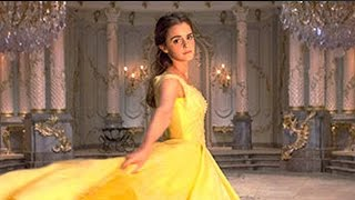 First Look at Emma Watson as Belle in Iconic Yellow Gown in Beauty & The Beast Live Action Movie