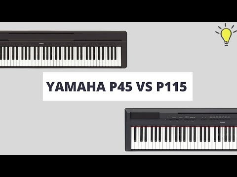 Yamaha P45 vs P115 : Full Comparison