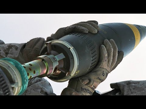 120mm Mortar Fire - French M327 & US Army's M120