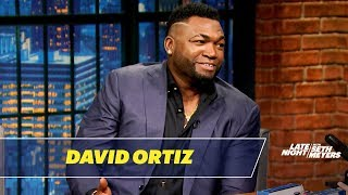 David Ortiz Expects to Be Mooned by Yankees Fans