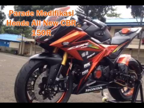 Video Parade Modifikasi All New Honda CBR250RR