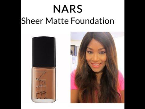 Nars Sheer Matte Foundation Nars Sheer Matte Foundation