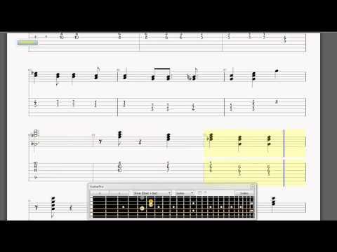 Ed Bickert Trio - Lollipops and Roses - Guitar Transcription