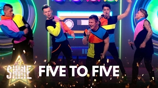 Five To Five perform 'MMMBop' by Hanson - Let It Shine - BBC One