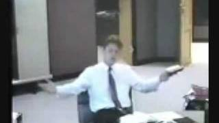 YOUNG CHRISTIAN man debates Ahmed Deedat about God