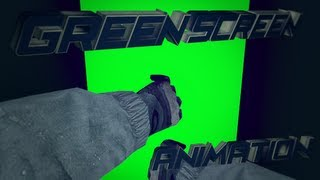 Hand animation # Green Screen