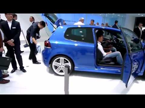 Golf R walkaround - Frankfurt 2009