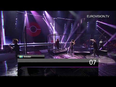 Eric Saade - Popular (Sweden) - Live - 2011 Eurovision Song Contest Final