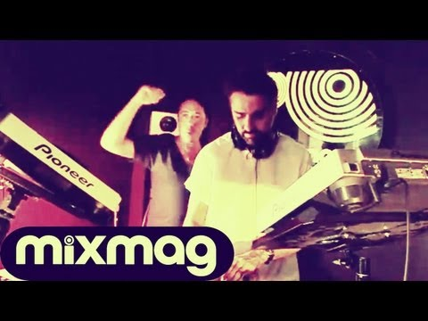 Yousef and Dan Ghenacia in the Mixmag DJ Lab
