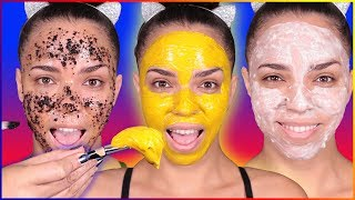 Ultimate DIY Face Mask + DIY Face Scrub for Dry Skin, Oily Skin, Acne, Clear Skin