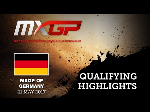 MXGP of GERMANY 2017 Qualifying Highlights #Motocross