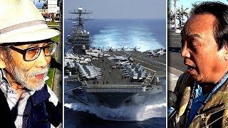 Theo yêu cầu: Ông Ngô Kỷ, ông Mạnh Cường nói gì vụ tàu USS Carl Vinson thăm VN?