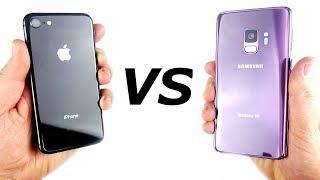 iPhone 8 vs Galaxy S9 Speed Test