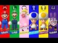 New Super Mario Bros U Deluxe   All Characters