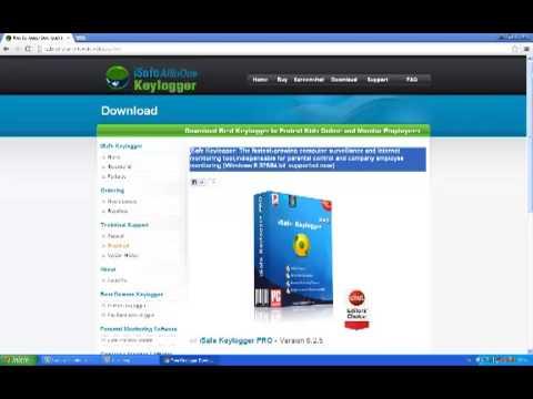 Espiar pc remotamente con iSafe ALLInOne Keylogger