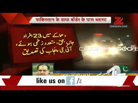 Blast At Wagah Border; At Least 32 Killed video