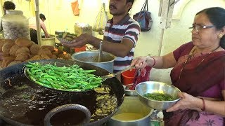 मेहनती मराठी आंटी|  Cheapest Street Food in Maharashtra | Snacks @ 10 rs Only